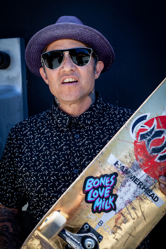 Bones Love Milk Skateboard Experience