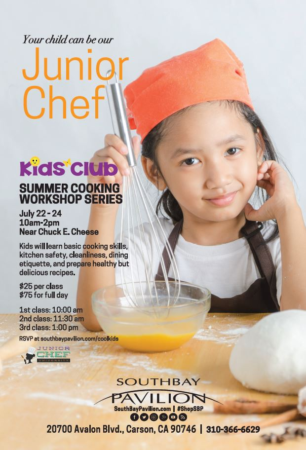 Junior Chef Kids Cooking Club