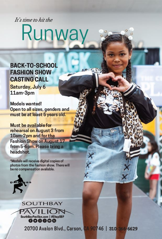 Back-To-School Fashion Show Casting Call