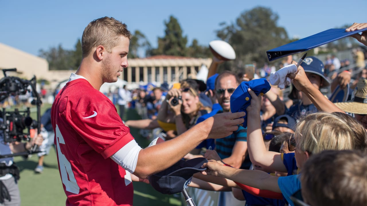 L.A. Rams Training Camp Events