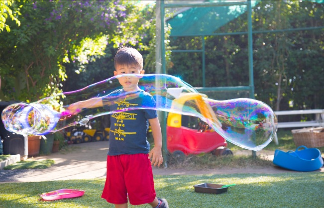 Free Bubble Show!