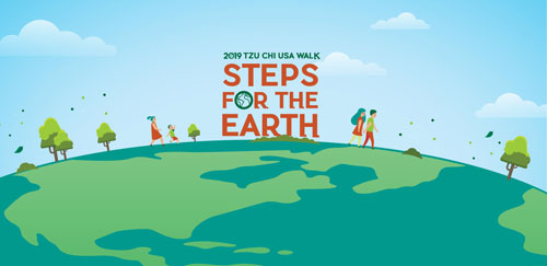 Tzu Chi USA Walk: Steps for the Earth