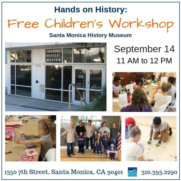 Hands on History: Free Children's Workshop