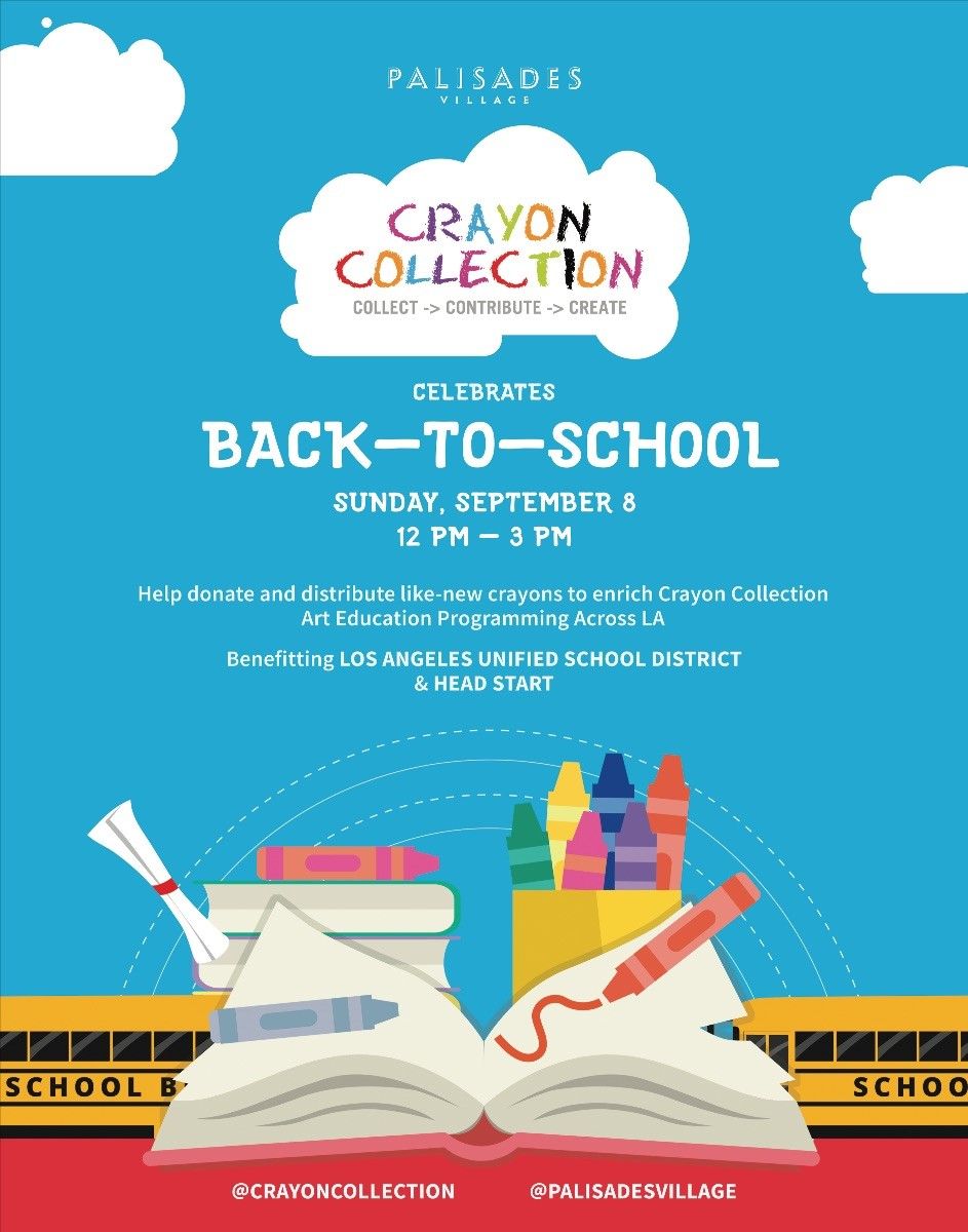 Crayon Collection Celebrates Back-To-School!