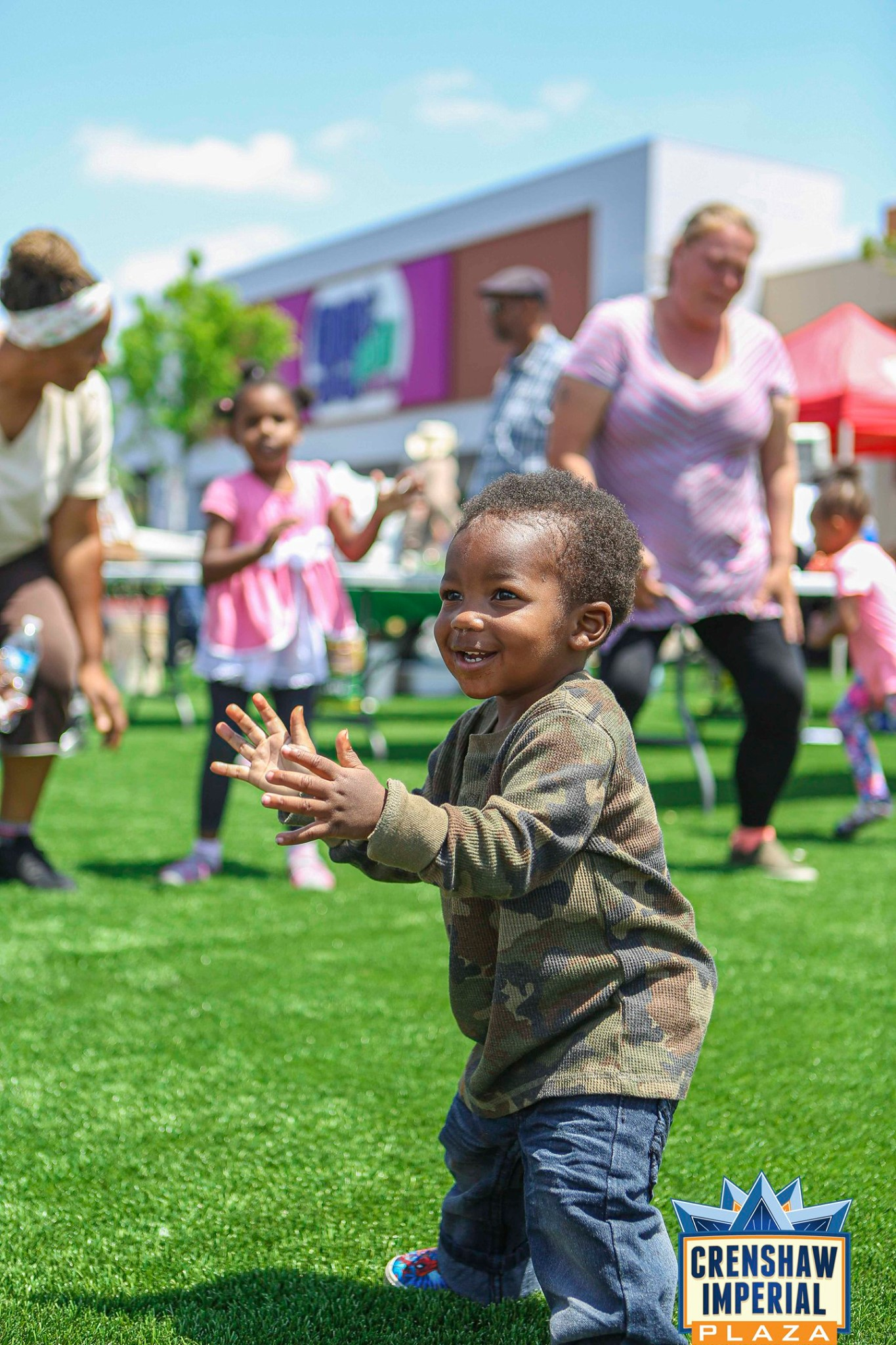 Free Hip-Hop Kids Fun Zone Dance Party