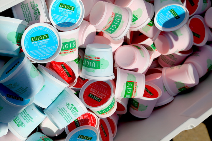 Luigi's Real Italian Ice Brings Philly Pop-Up Labor Day Event