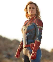 Battleship IOWA's Movie Under The Guns: Captain Marvel