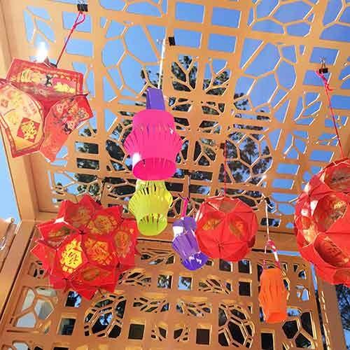 Huntington Children's Workshop: Chinese Lanterns