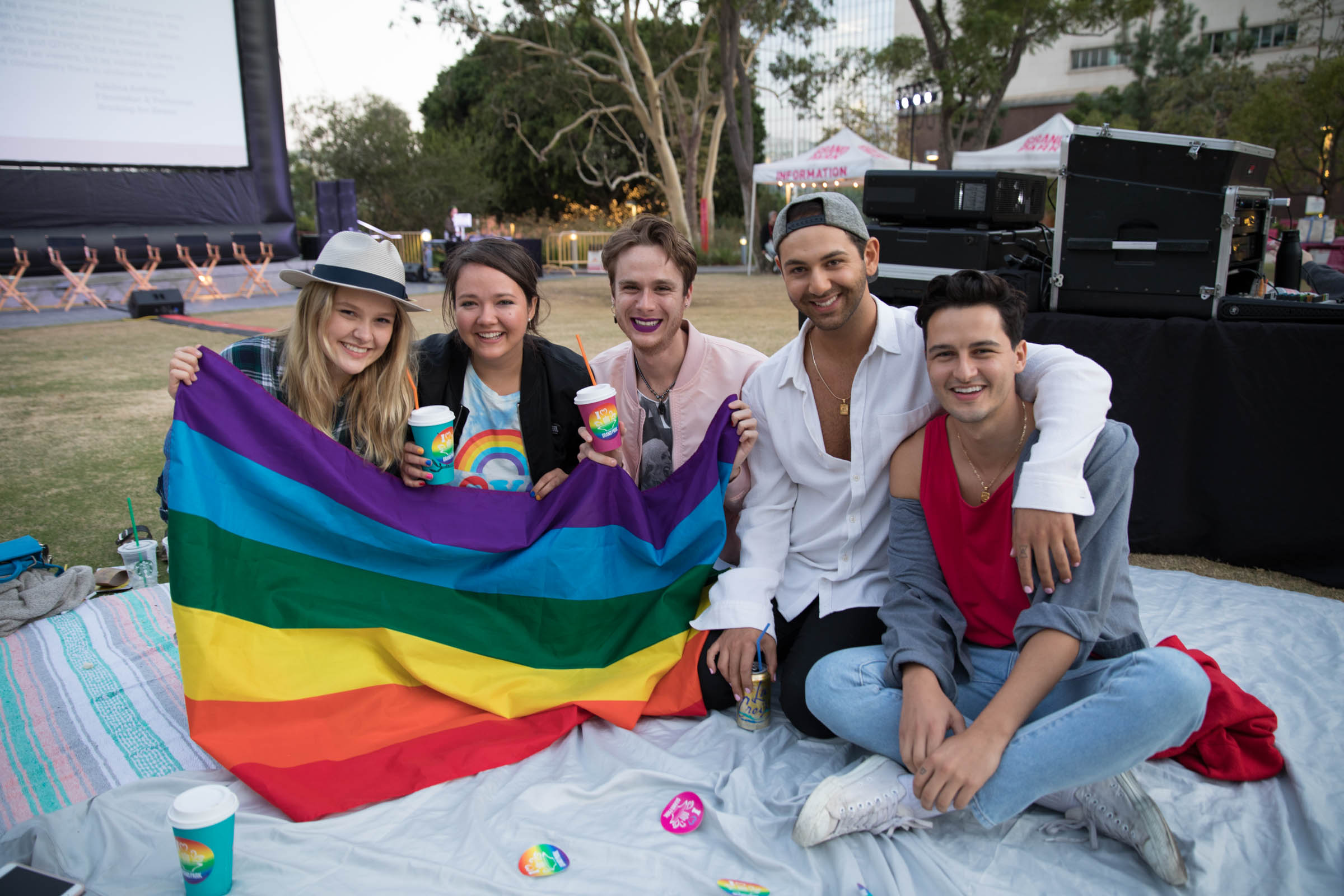 Grand Park & Outfest Present PROUD Picnic And Movie Night