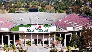 Girl Scout's Day at the Rose Bowl