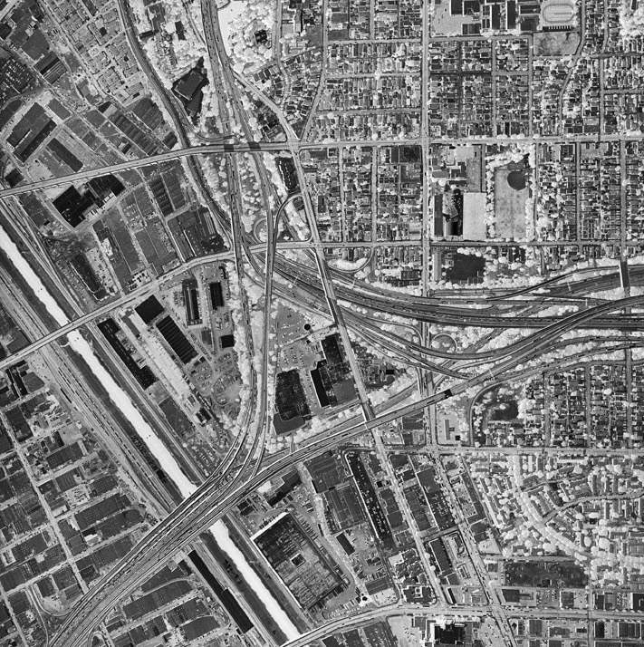 The Elevated Eye: Aerial Photography Past and Present Exhibit