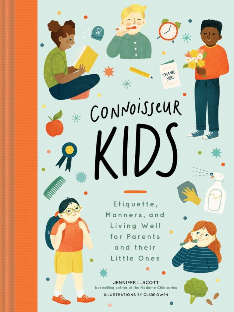 Connoisseur Kids manners book