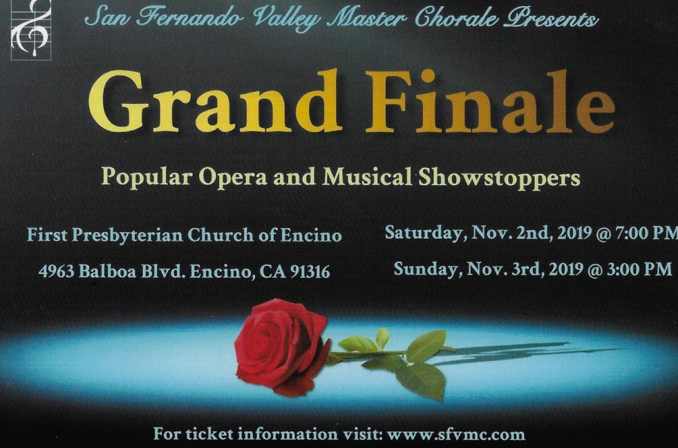 """Grand Finale"" Popular Musical Showstoppers"