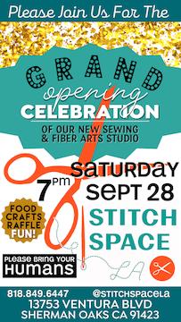 Stitchspace LA Grand Opening Celebration