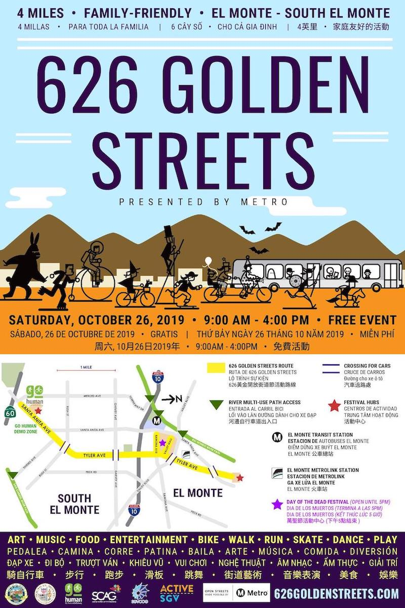 626 Golden Streets: Streets and Treats by Active SGV