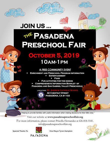 Pasadena Preschool Fair