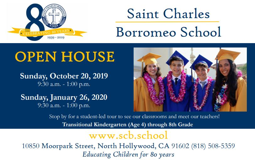 St. Charles Borromeo School Open House