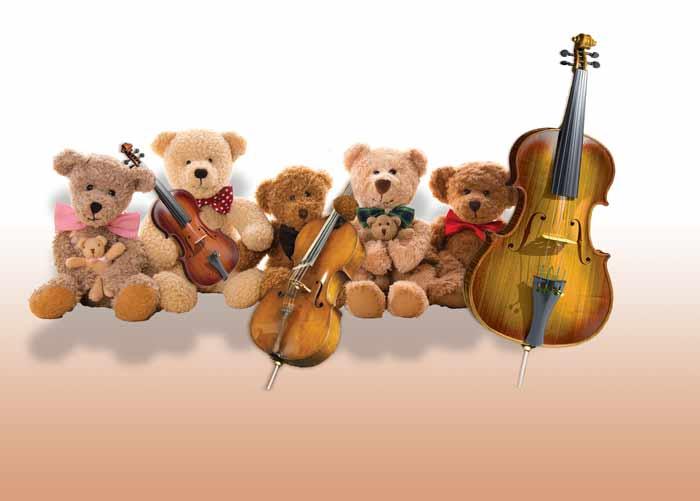 """Teddy Bear Concert: """"Meet the String Family"""""""