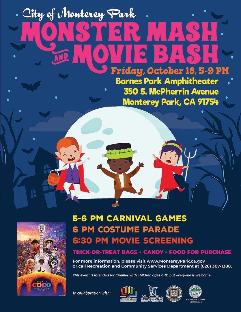 Monster Mash & Movie Bash