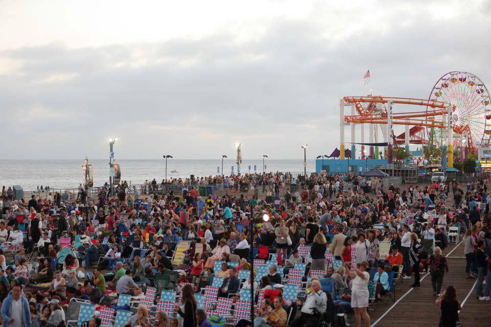 LA Opera Presents Opera At The Beach: Santa Monica