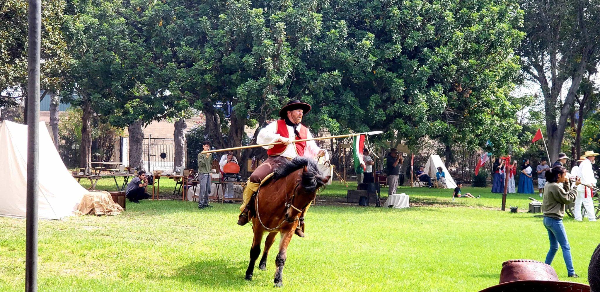 Dominguez Rancho Adobe Museum's 173rd Anniversary of the Battle of Dominguez Hill Battle Re-enactment