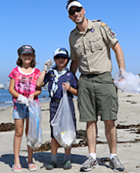 30-Minute Beach Cleanup And Halloween Costume Contest