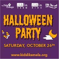 Kids Like Me Halloween Party