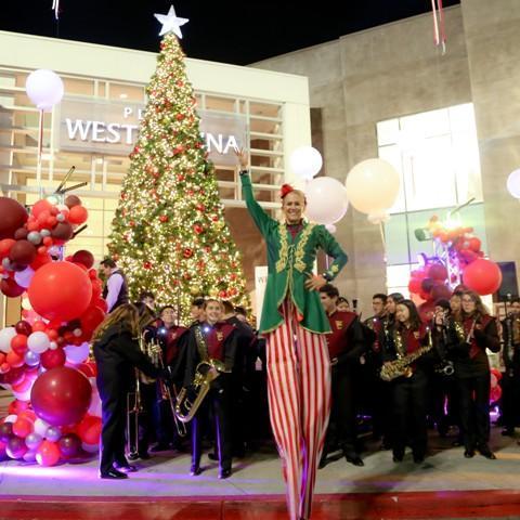 Plaza West Covina Holiday Tree Lighting Event