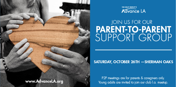 Parent-to-Parent Support Group for Parents of Young Adults with Diverse Challenges