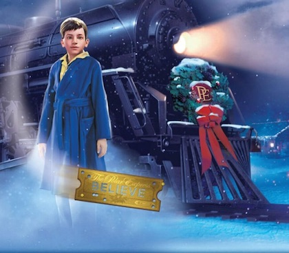Polar Express at the Southern California Railway Museum