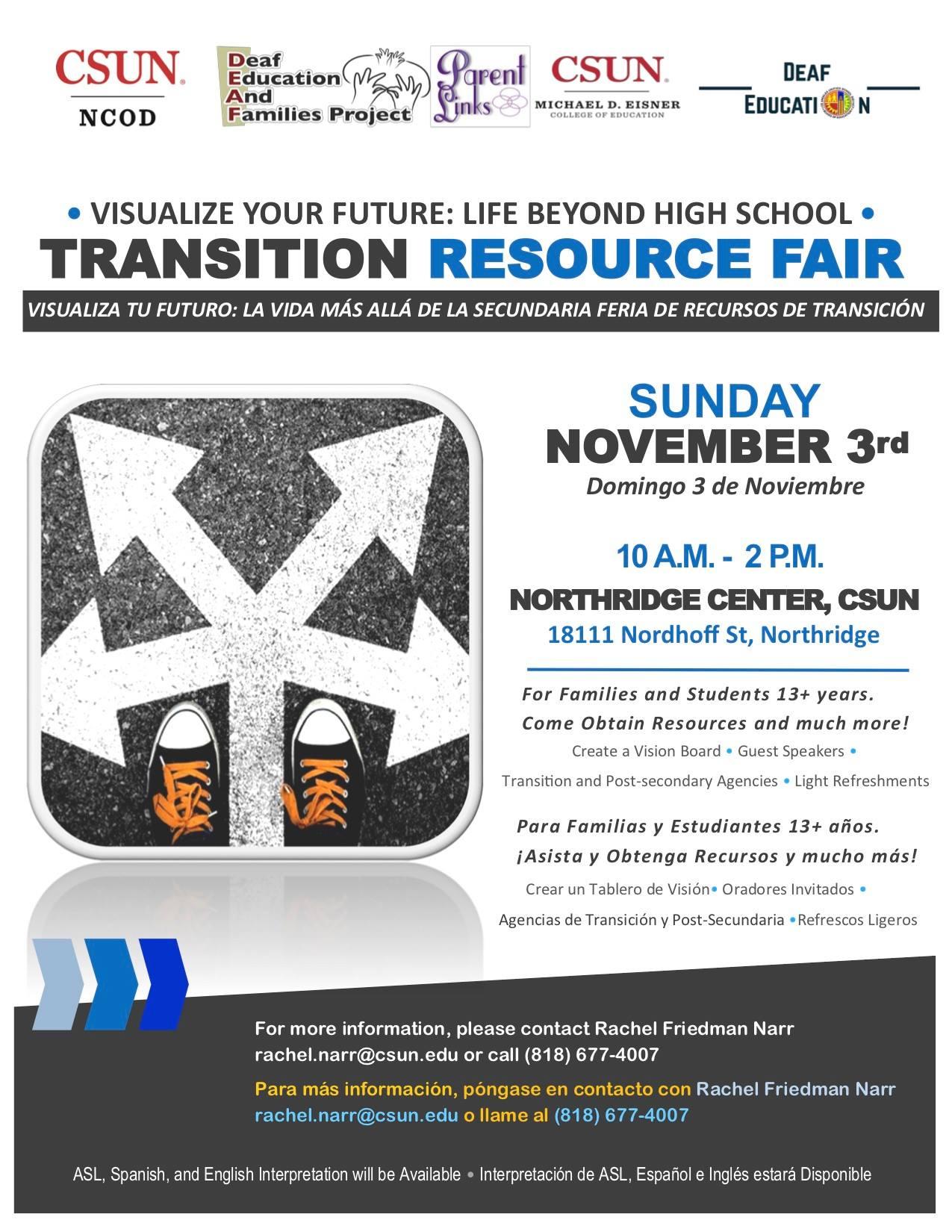 Transition Resource Fair