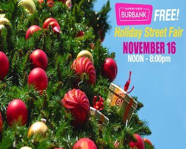 Burbank Holiday Street Fair
