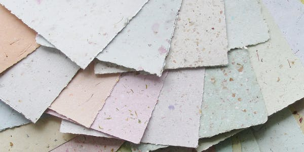 CraftLab Family Workshop: Recycled Papermaking with Sophia Allison