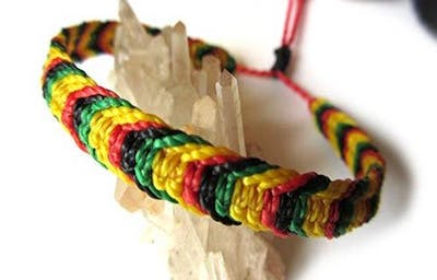 CAAM Workshop: Cross Colours Friendship Bracelet