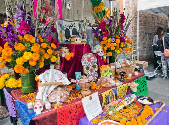 Old Pasadena's Day of the Dead Celebration