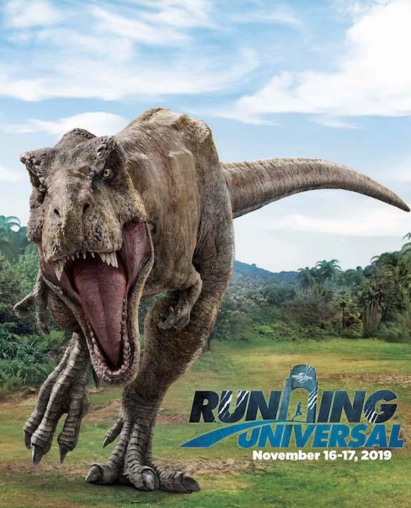 Running Universal: Jurassic World