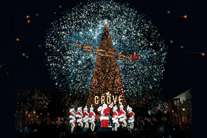 The Grove's Christmas Tree Lighting