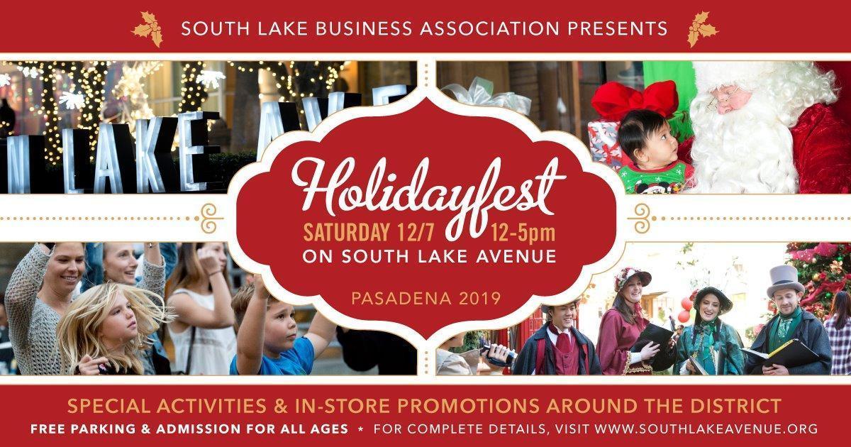 South Lake Pasadena Holiday Fest