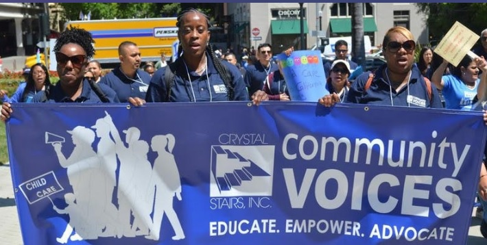 Crystal Stairs Community Voices Workshop – Free Lunch, Free Childcare & Giveaways!