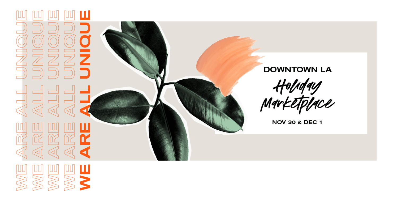 Unique Markets Holiday Pop-up: Downtown LA