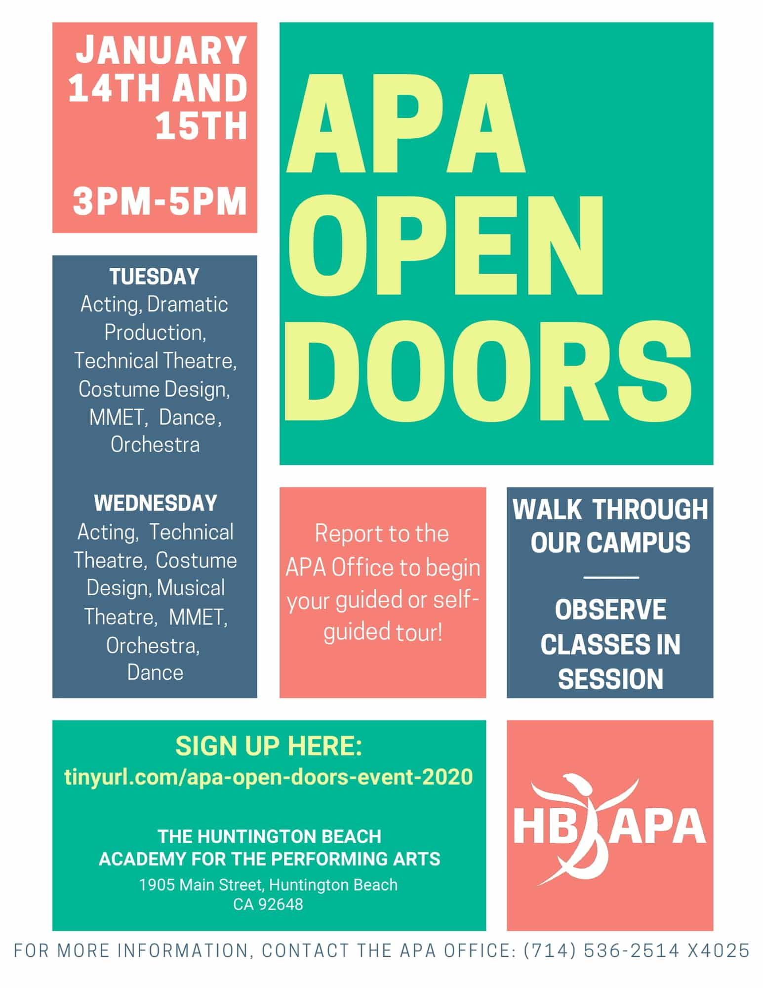 APA Open Doors Event