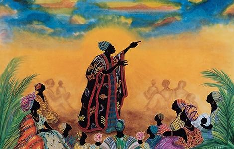 Our Voice: Celebrating the Coretta Scott King Illustrator Awards Exhibit