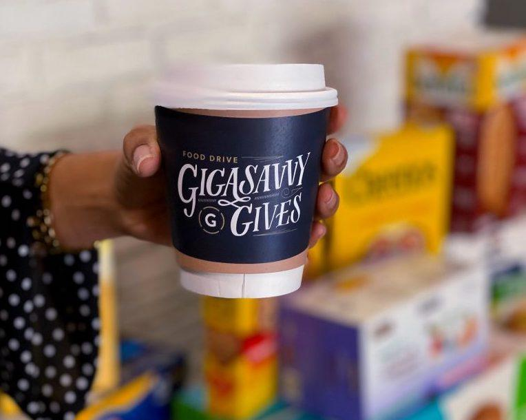 Gigasavvy Presents 7th Annual Gigasavvy Gives: Cans for Coffee Food Drive
