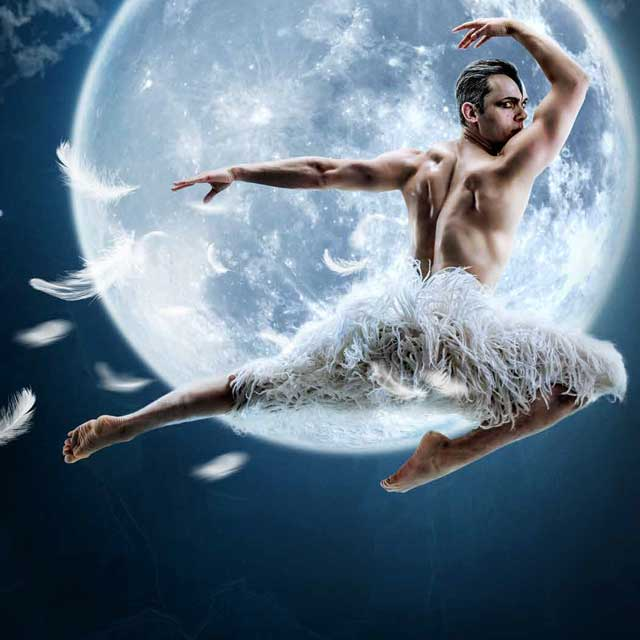 "Matthew Bourne's ""Swan Lake"""