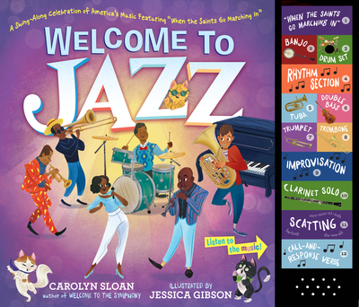 Carolyn Sloan with the Big Lucky Jazz Band Interactive Musical Presentation & Book Signing