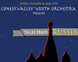 Conejo Valley Youth Orchestra presents Tales from Russia