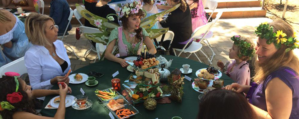 A Faery Hunt Valentine Fairy Tea Party