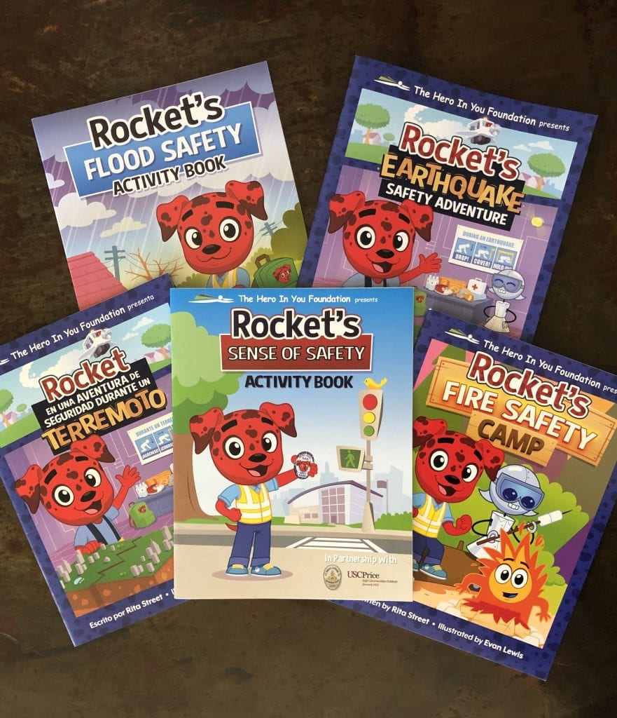 Rocket Rules safety activity books
