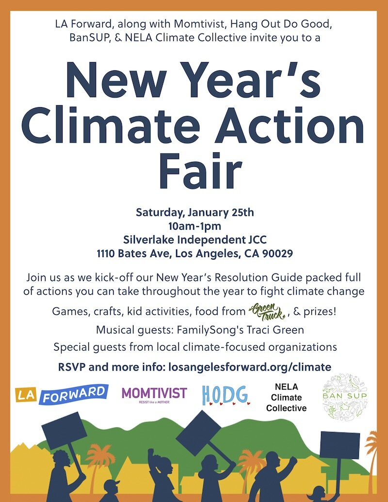 New Year's Climate Action Fair