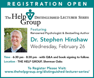 The Help Group Distinguished Lecturer Series Featuring Dr. Stephen Hinshaw